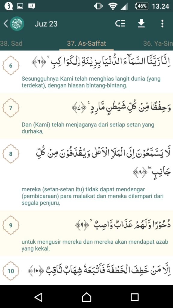 Quran surat Ash shaffat